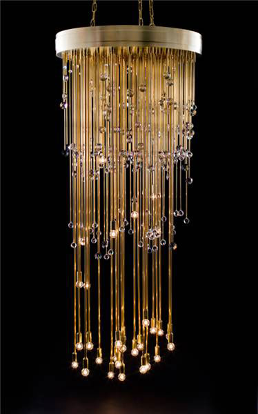 Sculpture by Josiah McElheny using SDSS plug plate. Image provided by David Weinberg.